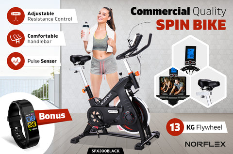 comercial spin bike
