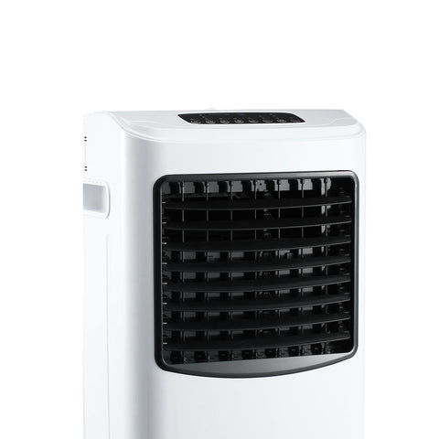 Image of Devanti Portable Eevaporative Air Cooler and Humidifier Conditioner - Black & White
