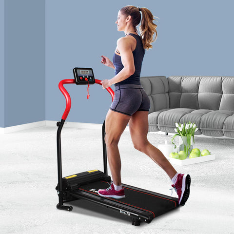 Image of foldable treadmill