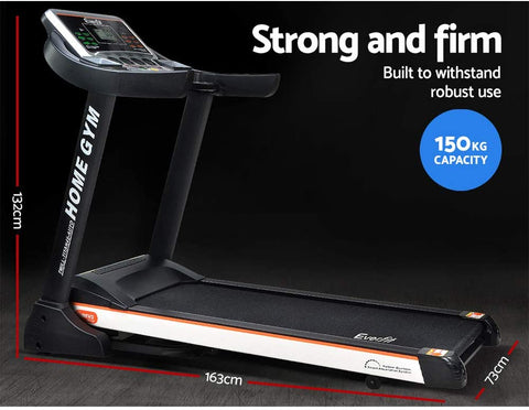 Image of folding treadmill