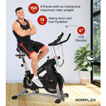 Image of heavy duty exercise bike