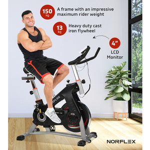heavy duty exercise bike