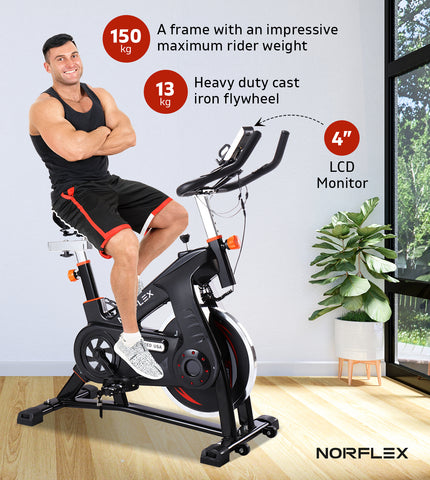 heavy duty spin bike
