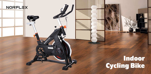 Image of indoor cycling