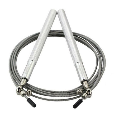 Adjustable High Speed Steel Skipping Jump Rope Dual Bearings Gym Boxing Exercise