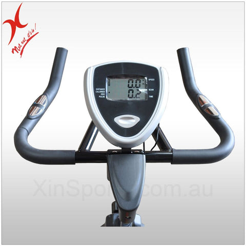 Energetics Exercise Spin Bike - 18kg Flywheel - 45KG Bike Commercial Grade
