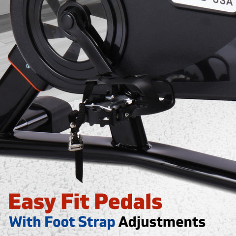 Image of spin bike foot strap