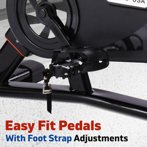 spin bike foot strap