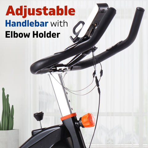 Image of spin bike hand holder