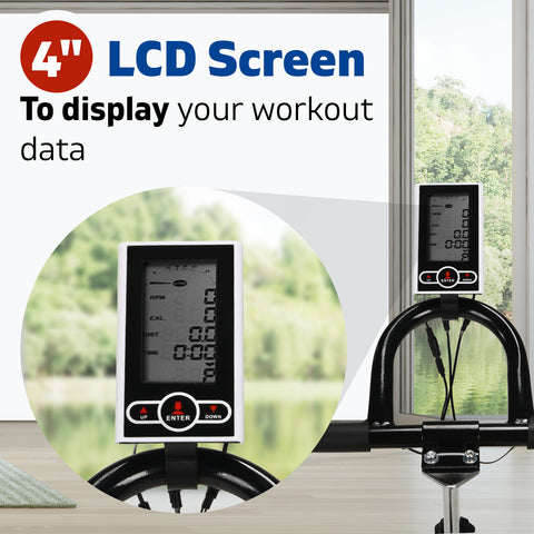Image of spin bike lcd