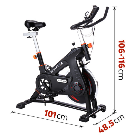 Image of spin bike measurement