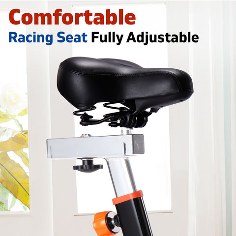 Image of spin bike seat