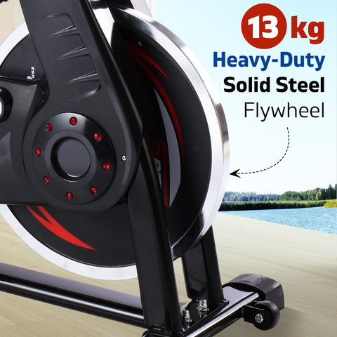 Image of spin bike steel