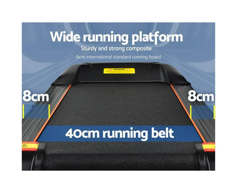 wide running bell treadmill