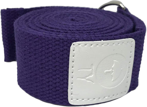 Image of yoga strap purple
