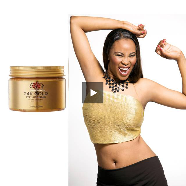 24 K GOLD PEEL OFF MASK