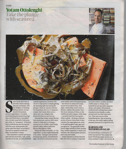 Ottolenghi's seaweed recipes in The Guardian