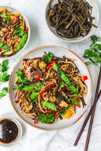Recipe: Sea Spaghetti Vegetable Lo Mein Stir-Fry