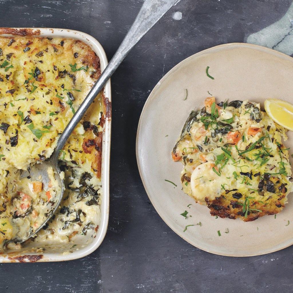Fish Pie with Atlantic Kitchen Dulse Seaweed | Recipe