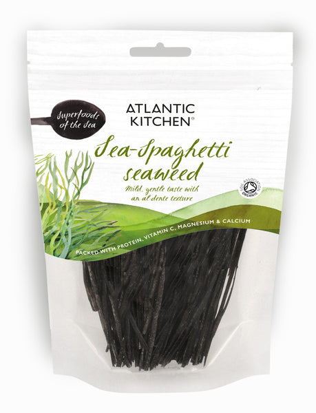 Organic Atlantic Dried Sea Spaghetti Seaweed