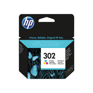 HP 302 Colour Ink Cartridge