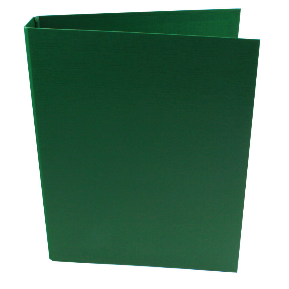2 Ring Binder Polypropylene A4 Green-25mm
