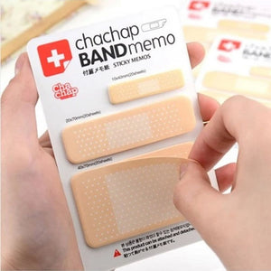 Novelty Band Aid Sticky Memo Pads