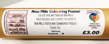 Load image into Gallery viewer, Colour New Mills - A3 Colouring Poster
