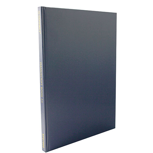Q-Connect Feint Ruled Casebound Notebook 192 Pages A4