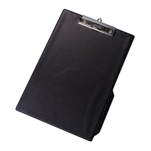 Q-Connect PVC Single Clipboard Foolscap Black