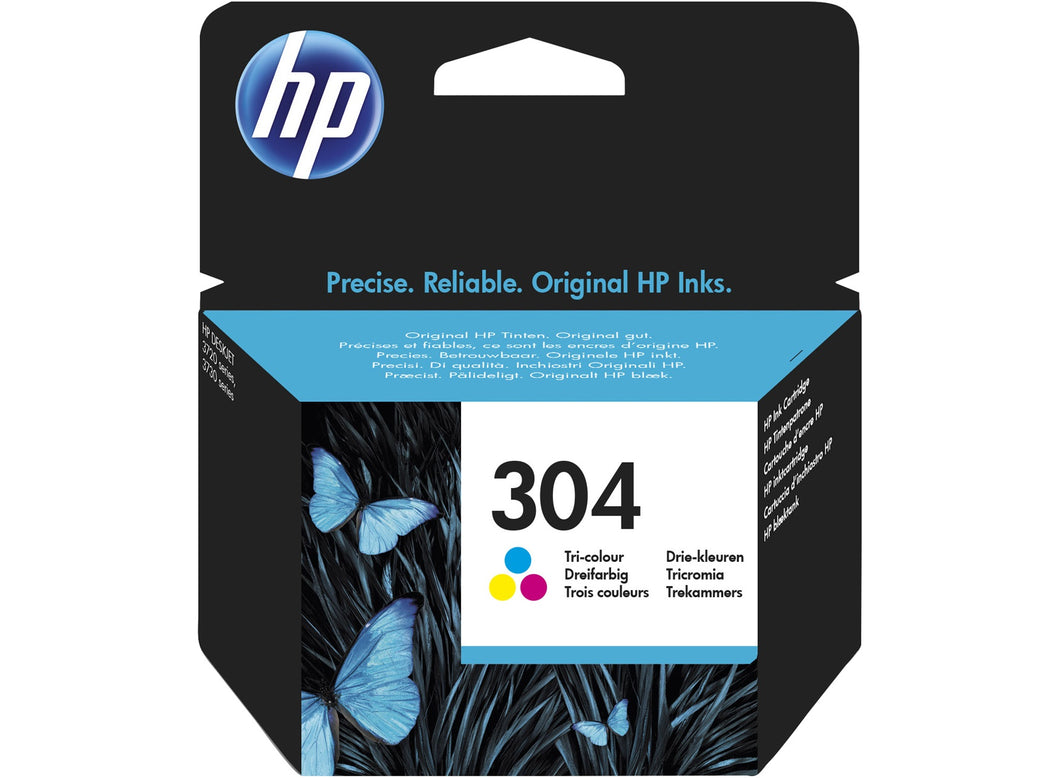 HP 304 Color Ink Cartridge