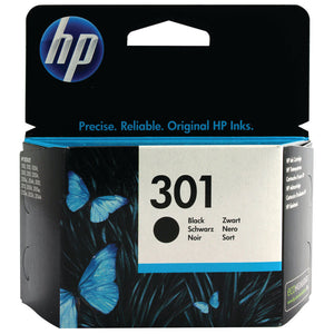 HP 301 Black Ink Cartridge - Standard yield
