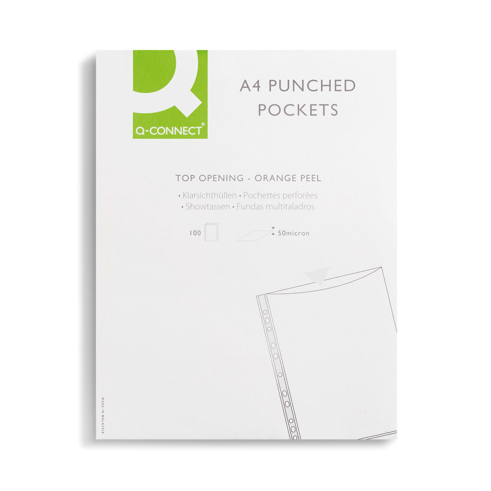 Punched Pockets