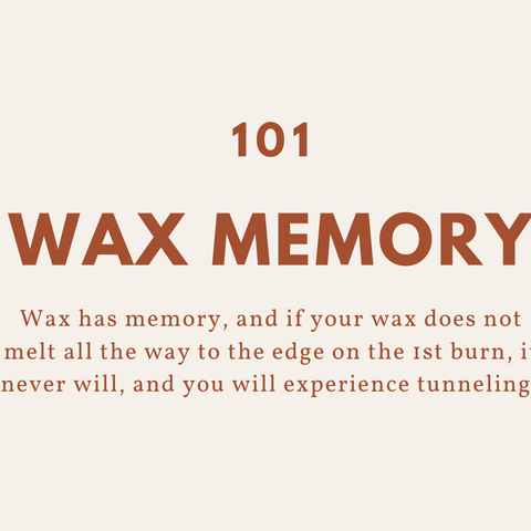 Wax Memory Candle Care Tips
