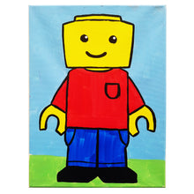 Load image into Gallery viewer, LEGO Canvas Painting Kit