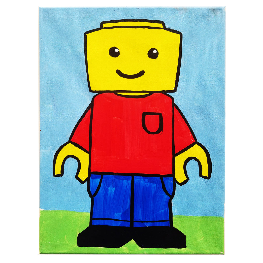 LEGO Canvas Painting Kit