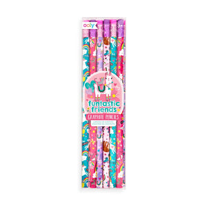 Funtastic Friends Graphite Pencils - Set of 12