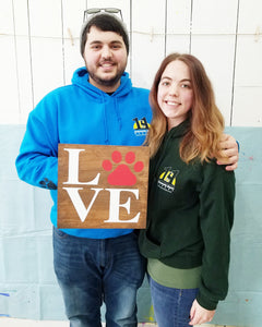 Puppy Love DIY Wooden Sign Kit