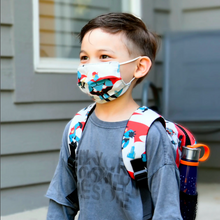 Load image into Gallery viewer, Kid's Face Mask - Superhero Power