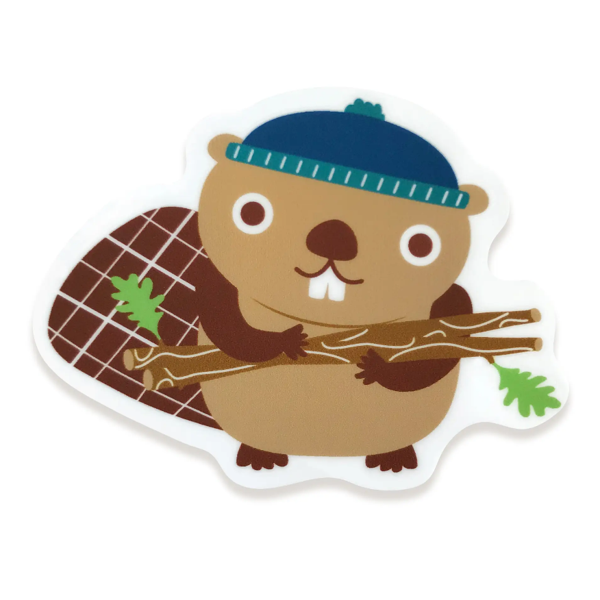 Busy Beaver Sticker