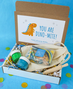 Dino Clay Play Sensory Kit