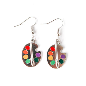 Artist Palette Earrings