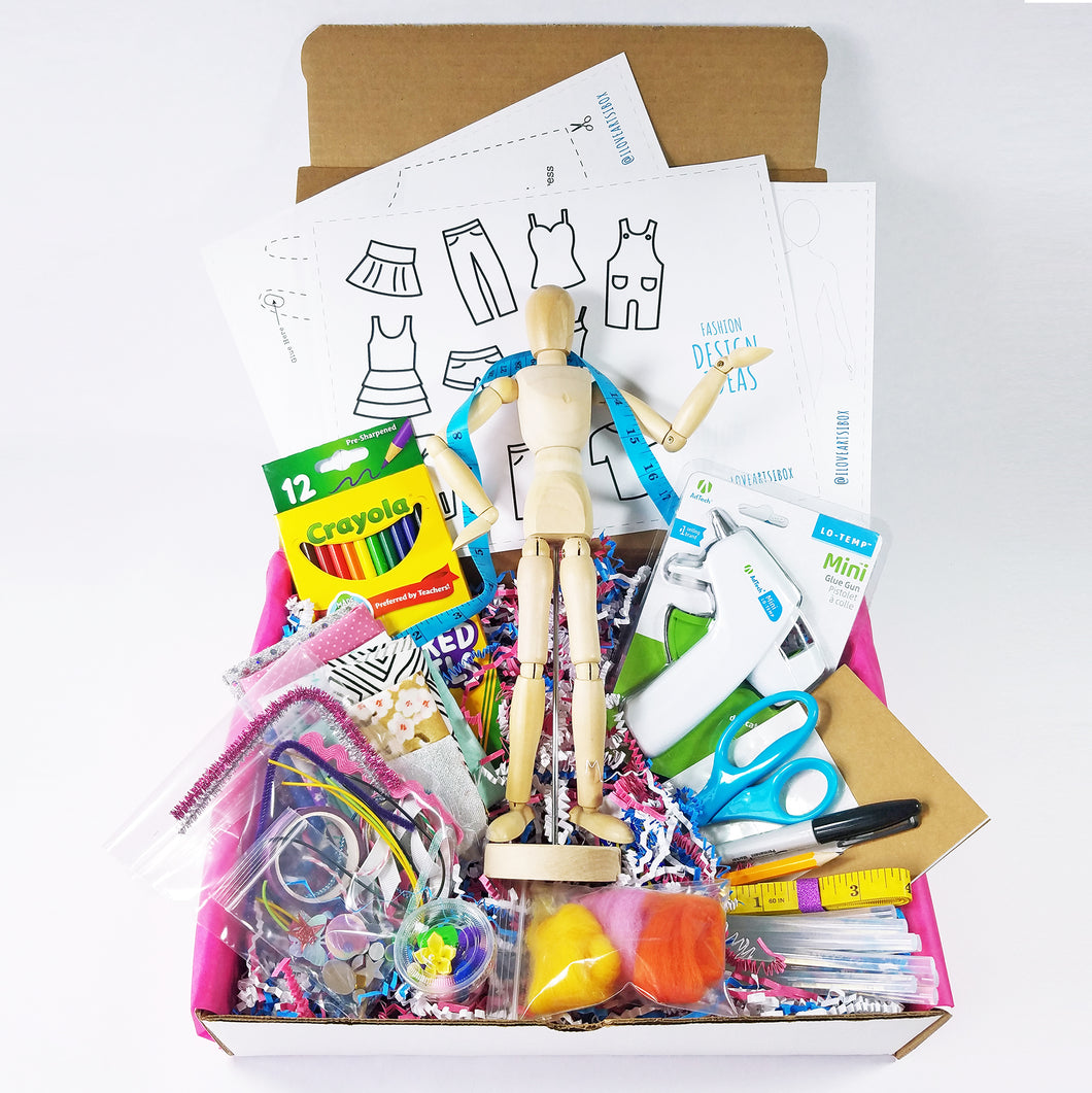 Tween Fashion Design Box