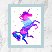 Load image into Gallery viewer, Watercolor Unicorn Painting Kit