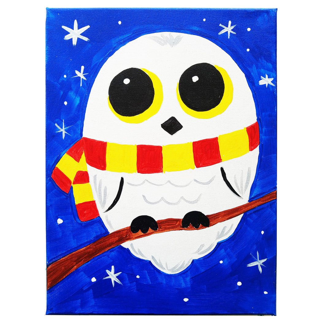 Harry Potter Owl Canvas Painting Kit