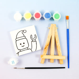 LEGO Mini Painting Kit with Easel - Party Favor