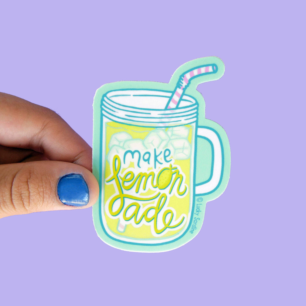 Make Lemonade Sticker