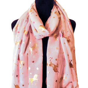 Unicorn Shimmer Scarf- Choose color