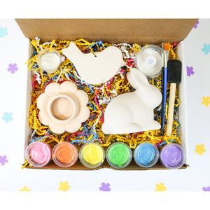 Spring Pottery Painting Kit