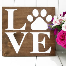 Load image into Gallery viewer, Puppy Love DIY Wooden Sign Kit
